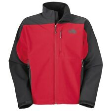 THE NORTH FACE Men's Red/Black Full Zip APEX BIONIC Softshell Jacket Small S