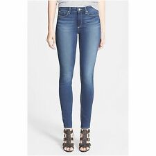 Paige Premium Denim Hoxton High Rise Skinny Jean in Easton, Medium Wash, Size 27