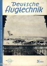 Deutsche Flugtechnik Luftfahrt Zeitschrift Flugzeugbau Dresden Heft 3/1959