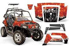 NEW AMR GRAPHICS KIT POLARIS RZR 800 800S 2007-10 ORANGE REAPER Full Kit NEW