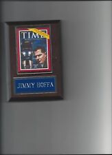 JIMMY HOFFA PLAQUE TEAMSTER LEADER UNION LABOR PICTURE PLAQUE  MAG. RARE