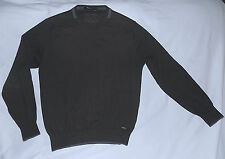 ERMENEGILDO ZEGNA -Casmere&Silk Luxury Sweater-Size Medium-Green-Nice Condition.