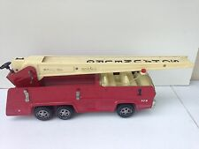 Vintages Metal Tonka Aerial Ladder Fire Truck Toy