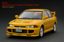 1:43 HPI DIECAST #8563 Mitsubishi Lancer Evolution III Dandelion Yellow
