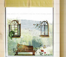 Window scene Home Decor Removable Wall Sticker/Decal/Decoration