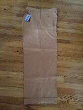 NWT Honey PLEATED 100% LINEN PANTS MENS PRESTIGE GOLD LABEL SIZE 42