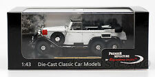 1938 Mercedes Benz G4 1:43 Scale (White)