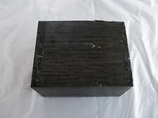 Russian Bog Oak Woodturning/ Smoking Pipe Morta Block Blank 5460 Years Old