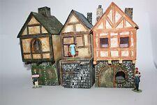 Häusezeile Kaltenburg 3 Häuser, Mittelalter, zu 7cm - 1647, Ritter, History