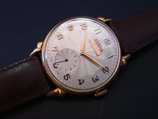 Vintage men's Dogma Prima manual wind oversized watch amazing case and dial rare