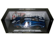 SHELBY COLLECTIBLES 426 1967 FORD MK IV LEMANS L.RUBY / D.HULME 1/18 #4 BLUE