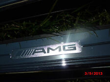 2003-2006 Mercedes-Benz W215 CL600 CL500 CL55 AMG DOOR LOW ENTRANCE SILL CHROME