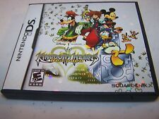 Kingdom Hearts Re:coded Recoded Nintendo DS Lite DSi XL 3DS 2DS w/Case & Manual