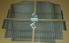 Polaris Ranger XP900 and 570 Full Size Crew Cab Floor Boards Mats 2013 thru 2015