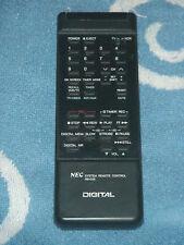 A NEC RB-D25 - TV/VCR Remote Control