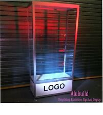 Glass Display Showcase Cabinet , CUT TO YOUR SIZE, SHOP FITTING! L@@K !!!