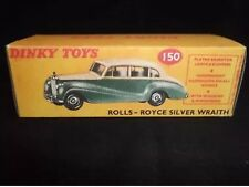 Dinky 150 Rolls-Royce Silver Wraith Empty Repro Box