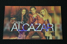 ALCAZAR signed Autogramm 9x15 cm In Person EUROVISION SONG CONTEST