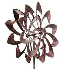 New Garden Wind Spinner Yard Windmill Decor Outdoor Kinetic Metal Art Sculpture
