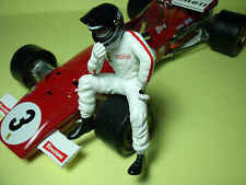 FIGURINE  JACKY  ICKX   1/18  VROOM   UNPAINTED  KIT  FOR   FERRARI   EXOTO