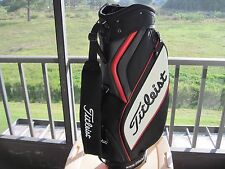 Titleist Cart Golf Bag  Red, Black and White USED  #MM 1179