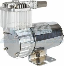 Viair 100C Chrome Utility Air Compressor with Omega Bracket for Air Suspension