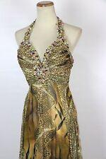 New Authentic Tony Bowls 235122 Multi-colored Beaded Bridal Prom Women Gown 2