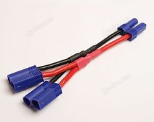 New EC5 10cm Parallel CONNECTOR/ADAPTOR LEAD 12AWG Silicone Wire