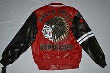 Pelle Pelle Men's Leather Indians Jacket Red Sienna Size 52 2XL 21406 Brand New