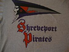 Vintage 90's SHREVEPORT PIRATES CFL Canadian Football League Rare T Shirt Sz XL