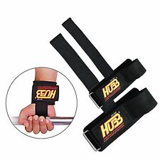 Weight Bar Straps Wrist Support Wraps Weight Lifting HUBB Gym Gloves HG-604 BNIP