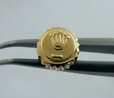 18K Datejust 6mm Rolex Watch Crown Part 1601 16013 1 Turn on threads Waterproof