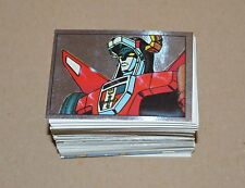 1984 PANINI Voltron Complete Set 216 Stickers Super Robot Beast King GoLion