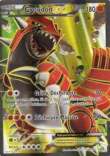 GROUDON EX FULL ART 180PV 150/160 NEUF CARTE POKEMON