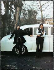 THE BEATLES POSTER PAGE . 1968 PAUL MCCARTNEY & RINGO STARR . N4