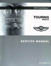 2003 Harley Davidson Touring Service Manual - by RepairManual