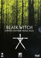 blair witch limited edition triple pack  (used very good condition)