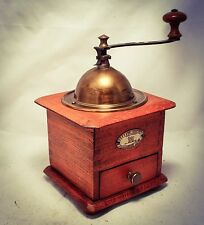 Antique PEUGEOT FRERES VALENTIGNEY DOUBS Coffee Grinder Mill Moulin café