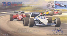 1983b BRABHAM-BMW BT52B MONZA F1 Cover signed EDDIE CHEEVER