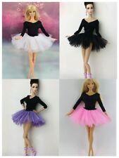 4 x Handgefertigte Ballerina Kleider Ballet Dress Für Barbie Puppe L45D
