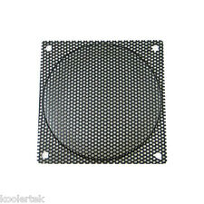 120mm Black Steel Mesh Computer PC Case Fan Filter / Grill / Guard, 2.2mm Holes