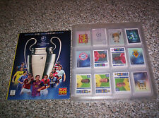 ALBUM CHAMPIONS LEAGUE 2011 2012 PANINI SET COMPLETO + ALBUM VUOTO EDICOLA MINT