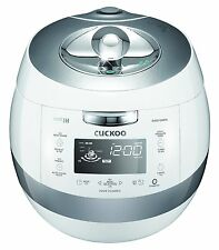 Cuckoo CRP-AHSS1009FN 10 Cups IH Pressure Rice Cooker 110V, White, Made in Korea