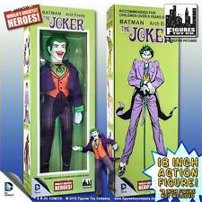 D.C. COMICS  JOKER; RETRO MEGO 18 INCH ACTION FIGURE, FIGURES TOY CO MISB