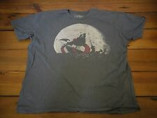 Threadless Kraken Snackin' by Ross Zietz Pirate Shirt Mens Gray T-Shirt XL