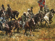 """Rebs"" Don Stivers Limited Edition Civil War Giclee Print"