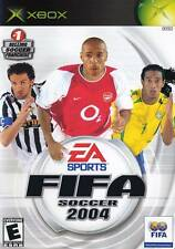 Fifa Soccer 2004 Xbox Video Game NIB EA Sports NIP new in package sealed