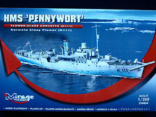 "HMS ""PENNYWORT"" - FLOWER CLASS CORVETTE, MIRAGE HOBBY 350804, SCALE 1:35"