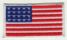 Aufnäher Bügelbild Iron on Patches Flagge Fahne Nation USA Abzeichen (a2z2)