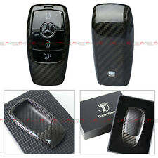LUXURY CARBON FIBER CASE FOR 2017 MERCEDES-BENZ W213 E-CLASS E300 SMART KEY FOB
